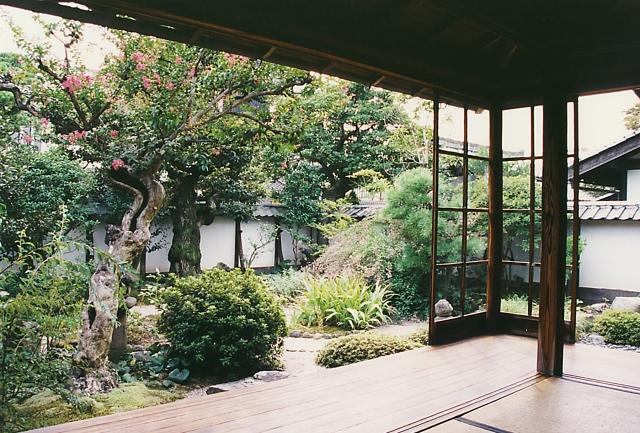 Yakumo Koizumi Japanese room and old Samurai residence loved by literary legend