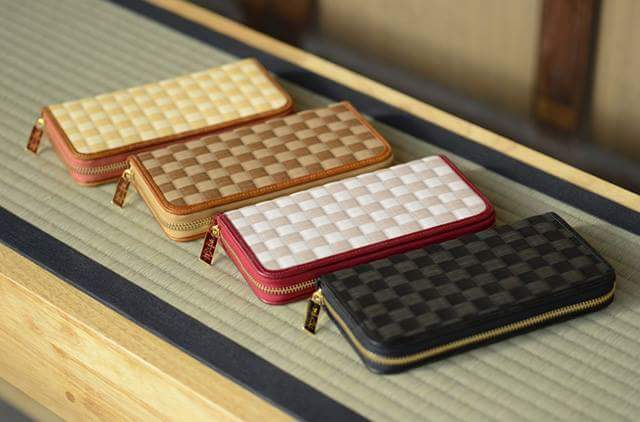 New wallet with Tatami material