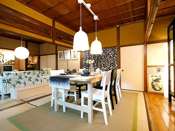 European furnitures are suitable with the tatami! Developing tatamis and interiors for the Japanese room