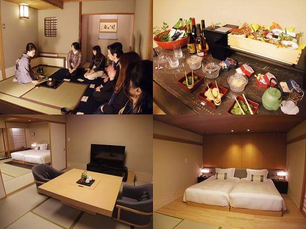 "The hotel that can experience ""Japaneseness"" in a tatami room"