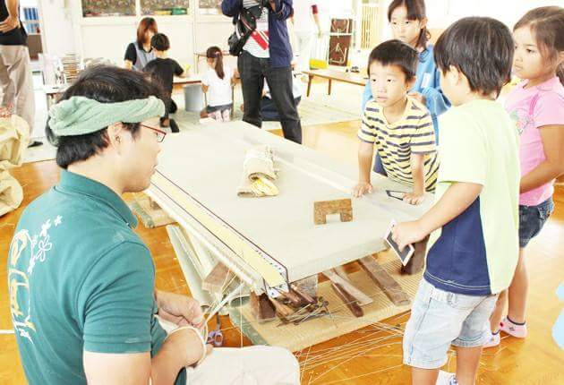 Japanese day-care center with Tatami room