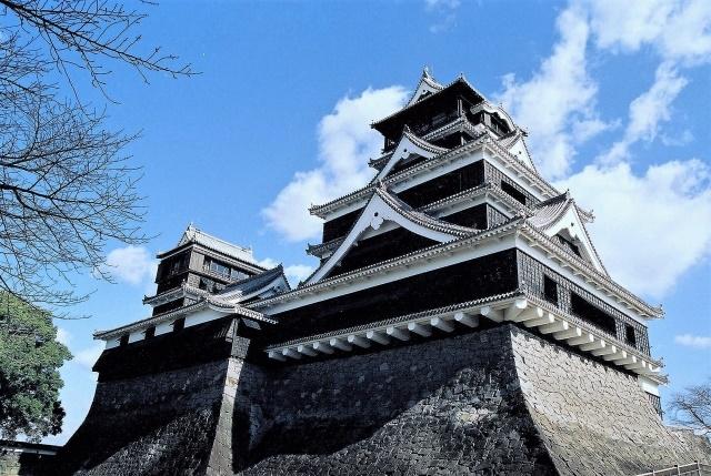 """Edible Castle"" Famous Castle with device and wisdom Kumamoto Castle"