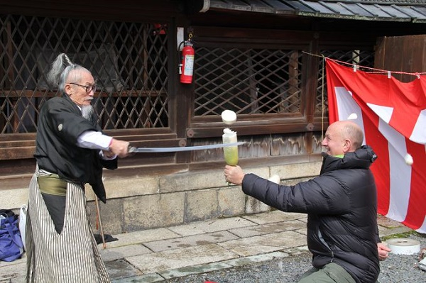 "A guide is ""Last Samurai""! Just a little bit different, Kyoto ""Japanese charms"" discovery tour"