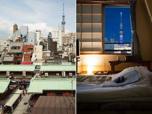 Reasonable Japanese inn in Tokyo