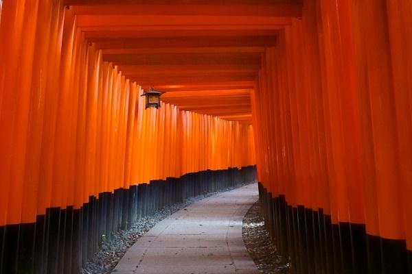 """The beauty of Japanese history and tradition Kyoto """"Fushimi-Inari-Taisha"""""""