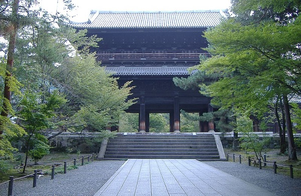Nanzenji Beautiful scenery with Japanese zest and the taste of Kyoto