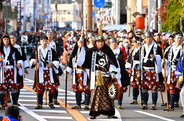 A hometown of ChushinguraAkou Visit a historical site where shows a history