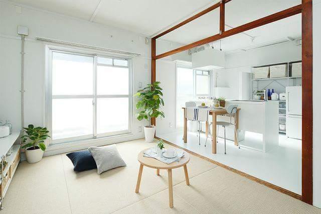 Mujirushi Ryohin developed the tatami made of the hemp material