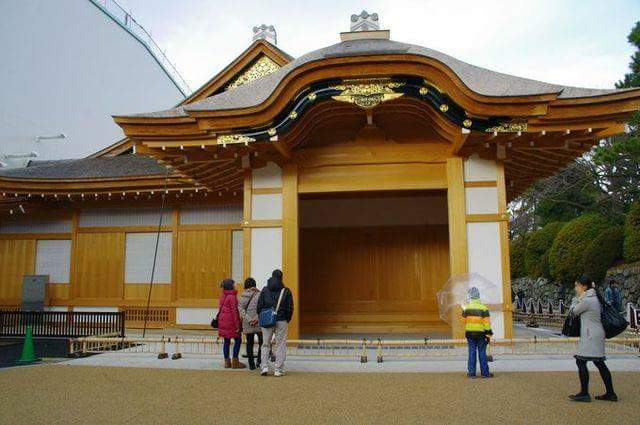 Does Nagoya-jo Castle lend a tatami floored hall!? Borrow the castle like feeling to be the king of a country.