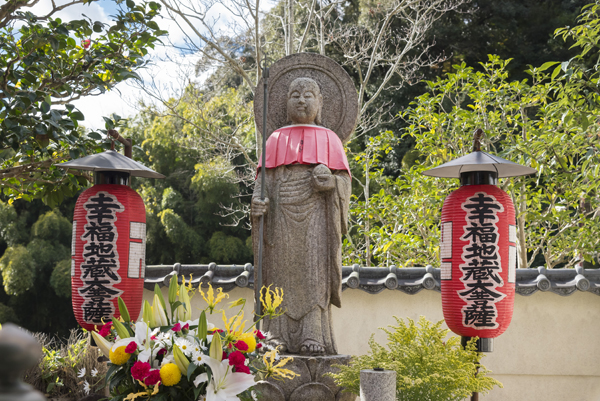 Kegon-ji Temple in Kyoto The song of suzumushi (bell cricket) is sounded at the tatami