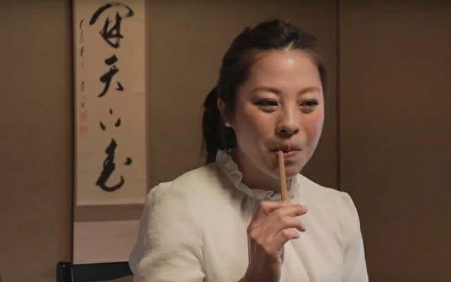 A tatami material, rush grass to be chopsticks
