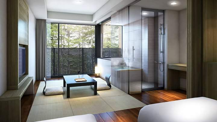 """A new guest rooms' building to feel """"relaxation of Japan"""" opened as a luxury hotel in Karuizawa"""