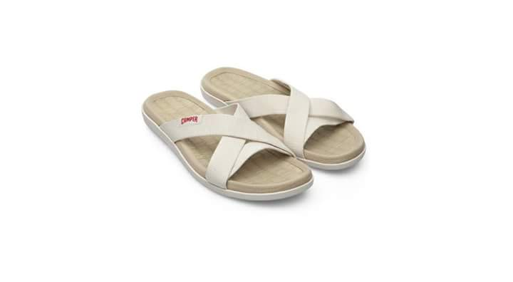 """Shoes brand  """"Camper""""  sells the tatami sandals"""