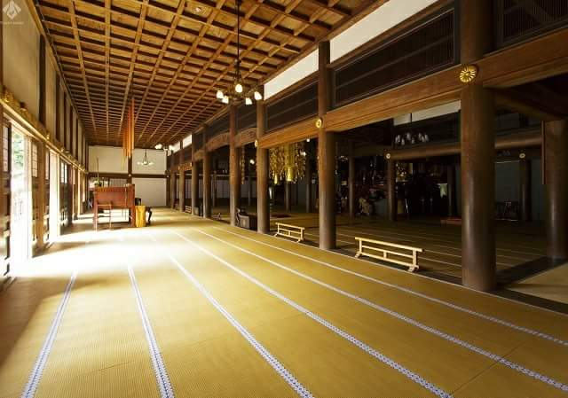 "An area of ""Eihei-ji Temple""  a famous temple of  ""Zen"" training, had a renewal plan"