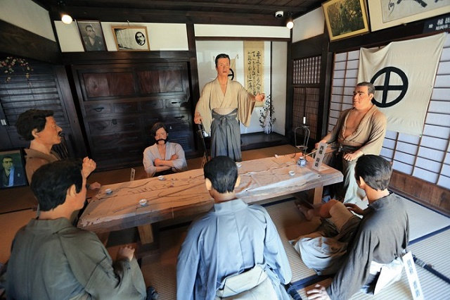 "The tatami floored ""Shiryo-kan (archive center)"" Life of Takamori SAIGO, a man of virtue"