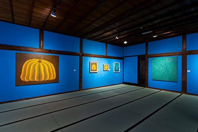 Kyoto   Appreciate the worldwide contemporary arts at the museum with the tatami