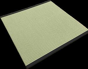 Tatami mat with border