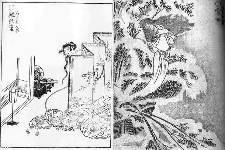 """Doubled fears Listen to """"Kaidan (ghost stories)"""" on the tatami in the summer night"""