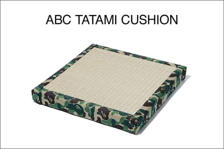 "A Japanese street brand sold ""tatami cushion"""