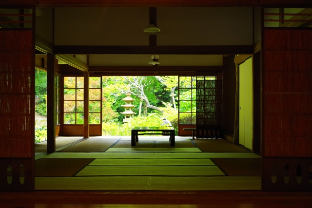 To be comfortable during the hot, humid summer in Japan  Attractions and functions of the tatami floored Japanese room