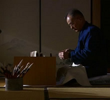 "From the tatami atelier The proudly traditional culture ""Kumano Brush"""