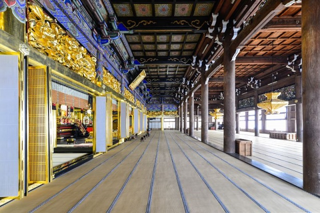 Incredible tatami space Designated as a national treasure Senju-ji Temple in Mie Prefecture Mieido