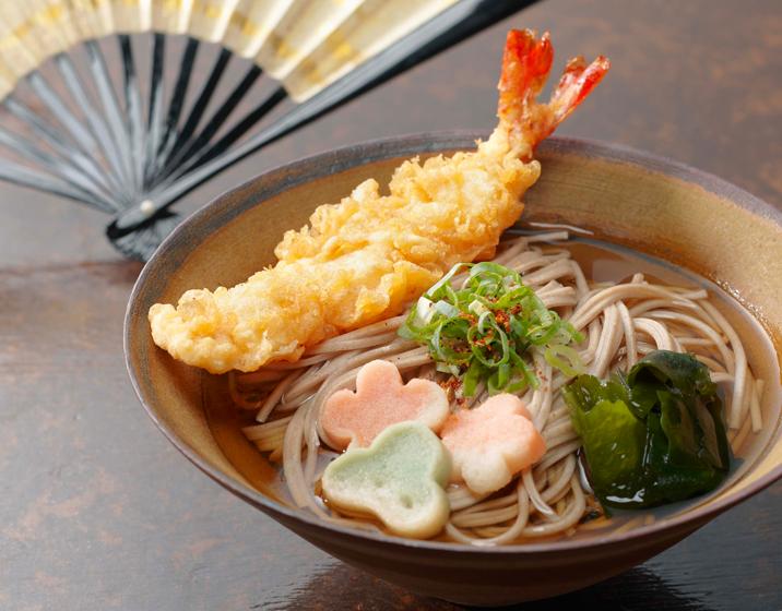 Toshikoshi Soba (year-crossing soba) Eat Soba on New Year's Eve