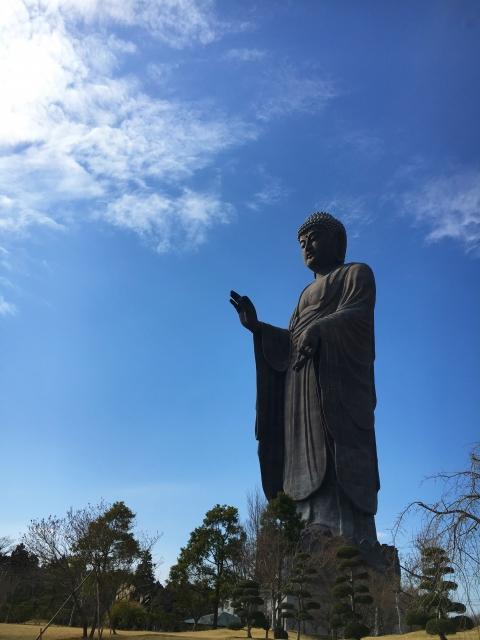 "A popular tourist spot to feel Japan    Vol.7 ""Temple"" Ushiku Daibutsu and Japanese atmosphere"