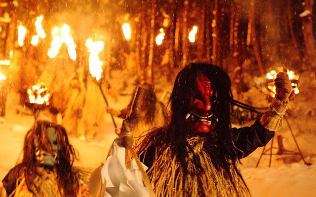 """A popular tourist spot to feel Japan Vol.19 Traditional cultures rooted in locals """"Namahage"""" in Oga Peninsula, Akita"""