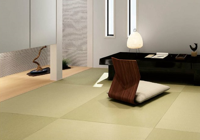 """Let's take the tatami in our lives A Japanese culture """"tatami"""", that is able to be comfortable all season."""