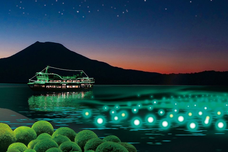 To meet Water Kamui (nature and god) Akan Lake in Hokkaido, that old myths are still alive