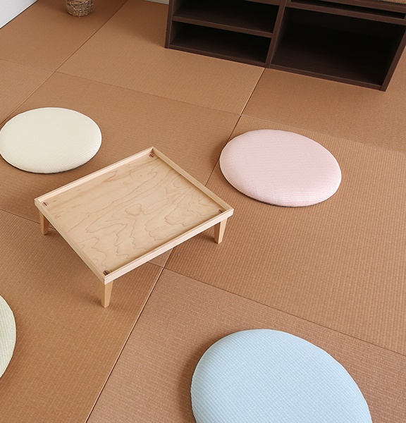 An expanding Japanese culture to the world, the tatami The charms of the tatami, worldwide comfortable and relax feelings