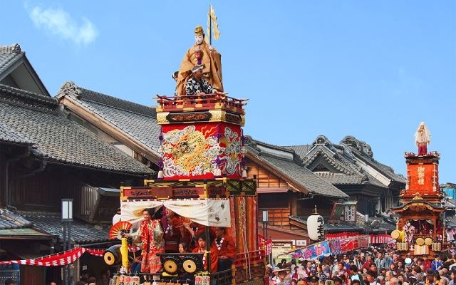 Popular tourist spots to feel Japan   Vol.46 The town of the time bell and the Kura   Kawagoe The townscape of the Kurazukuri with Edo atmosphere, Kitain Temple, and Kawagoe Festival
