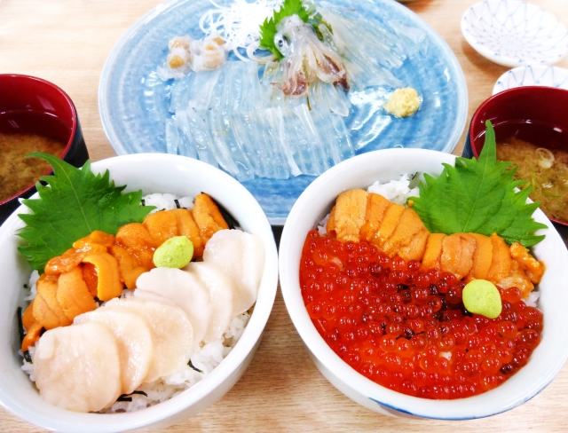 """The night view, the hot spring, and the seafoods Luxurious """"Winter time"""" in attractive Hakodate"""