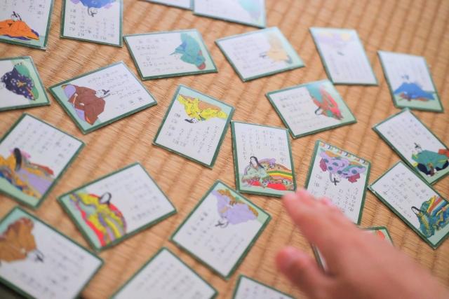 "Noticed by ""Chihayafuru"" An original card game in Japan, Hyakunin Isshu"