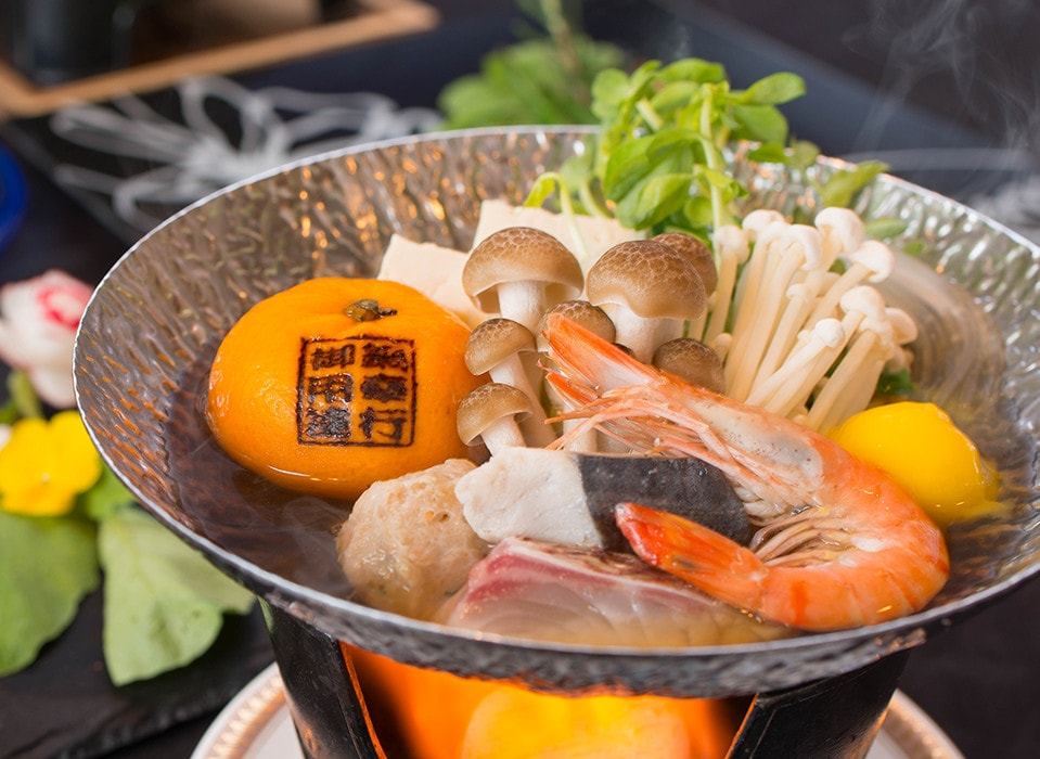Mikan Hot Pot by mikans of mikans!! Mikan Hot Pot is a new popular food in Suouohshima, Yamaguchi Prefecture
