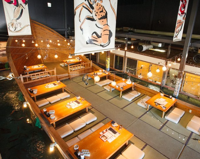 """It is not only delicious! It is awesome that """"Japanese restaurants"""" fulfilled with enjoyable and glad services!"""