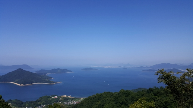 Urashima story remains in the Shonai Peninsula Enjoy the marvelous view and the hot spring in Kagawa in the spring