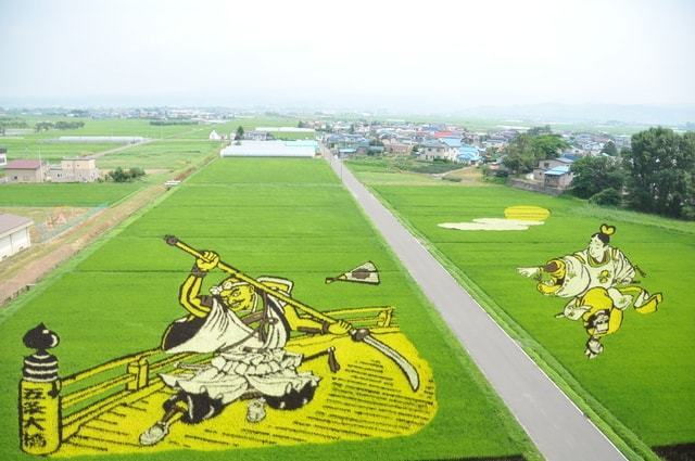 """Enjoy Aomori in the summer """"Very Japanese"""" art """"Rice Field Art"""", and hot sprig inns with the Japanese atmosphere"""